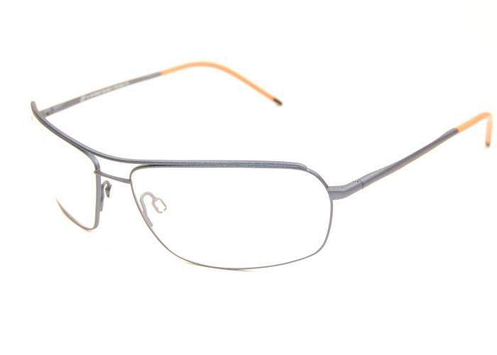 Montures lunettes galbées