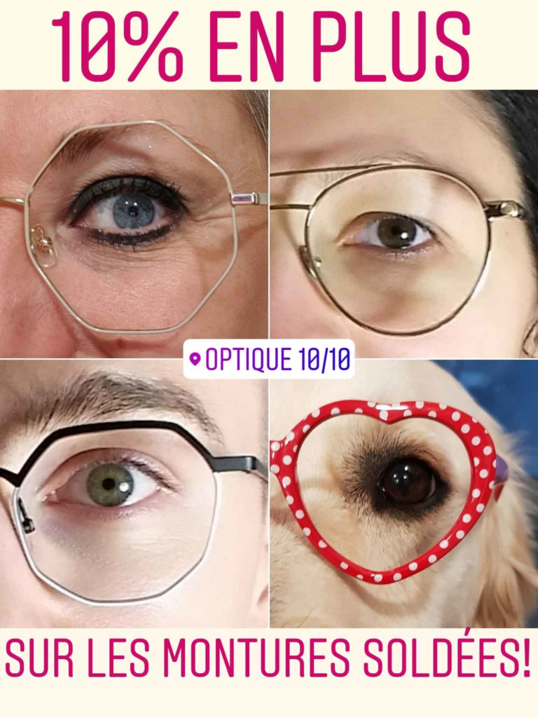 SOLDES-01-2019 OPTIQUE 10/10 FACHES THUMESNIL